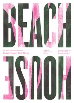 GigPosters.com   Beach House   Poor Moon