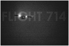 sleepless ink: Flight 714 Poster #plane #sleeplessink #landing