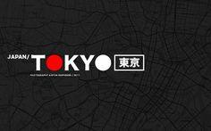 repponen: Tokyo, Japan. Part I. #map #tokyo #logo #japan #typography