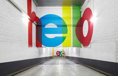 QV Carpark #avant garde #wayfinding #color #colour #bold #carpark #award winning