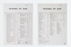 Friends of Ham on Behance #deli #menu #print #restaurant #bar #layout #editorial #charcuterie #typography