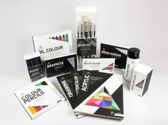 Apex Art Supply (Student Work)   Packaging of the World: Creative Package Design Archive and Gallery #packaging