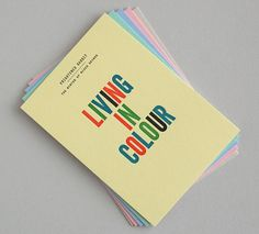 Creative Review - That's Impressive: promoting letterpress #postcard
