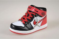Jordan Kids Shoes with White Black and Red Retro 1 - Arriving at retailers #shoes