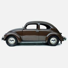 Creative Collider #design #beetle #brown #vintage #car