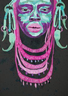 African tribes Poetic Interpretation