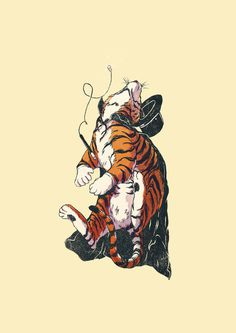 Tiger Magician - Deerdido | Daniel Ido https://www.instagram.com/deerdido/