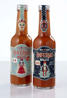 Inferno on Packaging Design Served #sillo