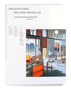 Speculoos - Architectures Wallonie-Bruxelles Inventaire 2000-2010 #cover #book