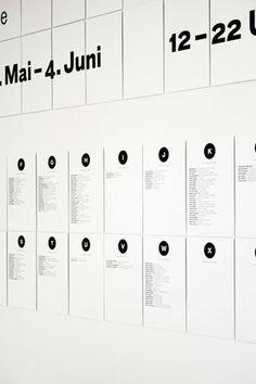 GABRE° – Gabriel Andermatt #signage #grid #wall #gabre