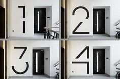 Bespoke floor numbers – by EIB #hh