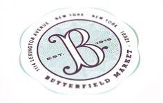 Mucca | Work | Butterfield Market #branding #design #identity #mucca #typography