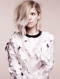 modelmoiselle:  Kate Mara for Glamour UK by Alisha Goldstein
