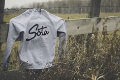 new crew neck from sota clothing. http://sotaclothing.com/ #clothing #sweatshirt #product #sota #photography