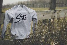 new crew neck from sota clothing.http://sotaclothing.com/ #clothing #sweatshirt #product #sota #photography