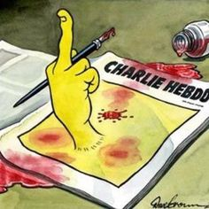 Je Suis Charlie #suis #charlie #france #je #french #cartoon #editorial