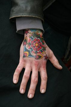 Marcus Kuhn #tattoo #hand