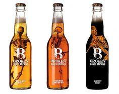 Broken Bones Brewing on the Behance Network #packaging #beer