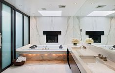 Interior Design Bathroom Trends 2013 Decorative lighting #furniture #design #bathroom #modern
