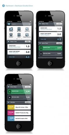 Workamajig® Mobile App on the Behance Network