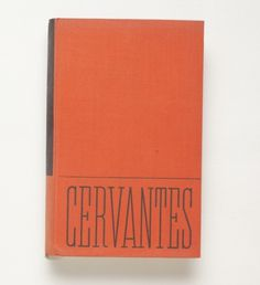 AMASSBLOG » without jackets, number one #book #cover #cervantes #czech #typography