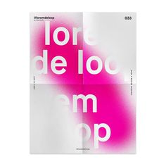 🏴 day 033 #loremdeloop #daily ・ ・ #dailyposter #design #daily #365days #designer #designers #designing #designporn #designlife #daily
