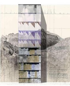 Beniamino Servino — Padiglione Italia. Innesti/ Grafting - Ambienti taglia e incolla #drawings #architecture #facades