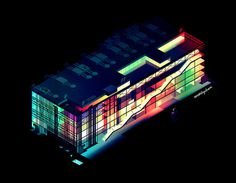 romain trystram blog #illustration #house #neon