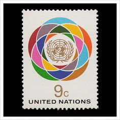 United Nations Postage Stamps – Part 1 / Aqua-Velvet #stamp #vintage #postage