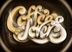 CUSTOM LETTERS, BEST OF 2011, DAY ONE — LetterCult #lettering #script #custom #coffee #schultz
