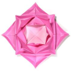 How to make a traditional fractal origami lotus flower (http://www.origami-flower.org/howto-origami-lotus.php)