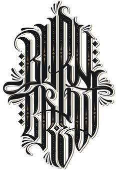 Burn Crew - Third Half Design - The Online Design Folio of Chad Mann #type