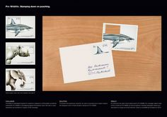 Pro Wildlife Campaign #stamp #wildlife #animals