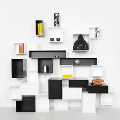 Cubit Modular Shelving System #modular #grid #furniture