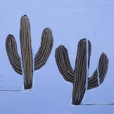 drift on gino belassen – cactus / contemporary painting