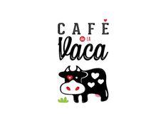Restyling logo Cafe de la Vaca #logo #ecuador #cafe