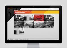 Renhand Corporate and Brand Identity #images #red #modern #yellow #orange #black