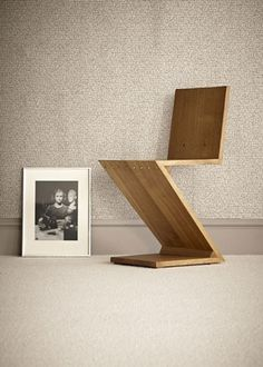 Hand Made Oak Furniture   Nigel Griffiths - Unique - Zig Zag Chair #oak #zig #chair #gerrit #zag #furniture #rietveld #1932