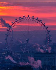 London From The Rooftops by James Burns