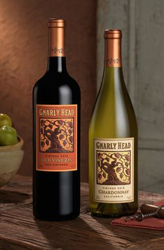 Gnarly Head ~ Wine Label Evolution ~ Packaging ~ Auston Design Group