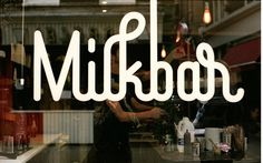 type novel #milkbar #typography