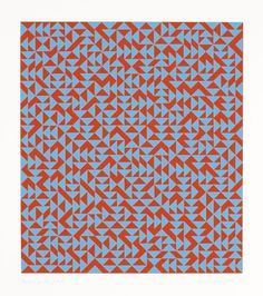 The Josef & Anni Albers Foundation #anni #1969 #screenprint #geometric #albers