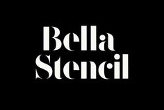 F37 Bella Stencil | Face37 Ltd