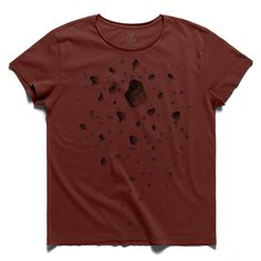 #meteor #claretred #tee #tshirt #kafka #meteorite #planet #surface #stone