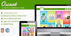 Oscart - Mobile Ready Oscommerce Website #oscommerce #site #responsive #clean #theme #skin #mobile #template #ready