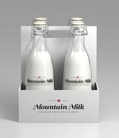 Mountain Milk by Anders Drage. #pack