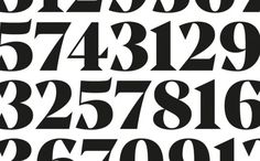 Type]Media 2010/11 - Lauri Toikka #serif #design #numeral #and #numbers #type #media #kabk