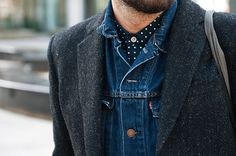 Convoy #fashion #levis #tweed #style