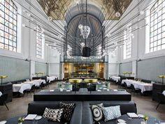 The Jane Restauran Antwerp by Piet Boon #lighting #design #architecture #restaurant