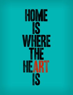 HOME IS WHERE THE HE(ART) IS Art Print #art #heart #home